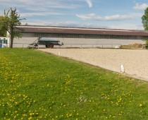 Dressurviereck 20 m x 40 m. Foto: JCH Fotografie
